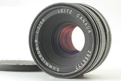 【Exc++++】 Leica Leitz Summicron-R 50mm F/2 Lens Canada 3CAM From JAPAN #1503