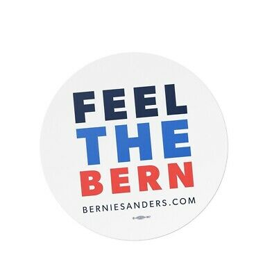 Bernie Sanders For President 2020 Political Campaign Feel The Bern Car Magnet 4""