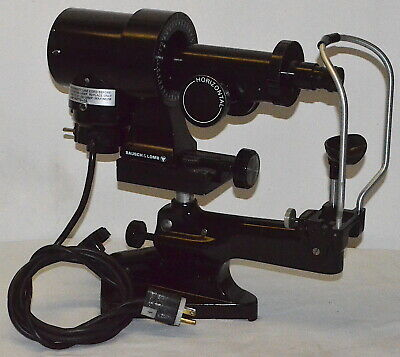 Vintage Bausch & Lomb Keratometer 71-21-35 *Used, Power-On Tested*