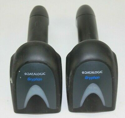 Lot of 2 Datalogic Gryphon GBT4400 Handheld Barcode Reader Scanner