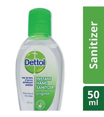 Dettol Instant Hand Sanitizer Original 50 ml help it to cure from disease