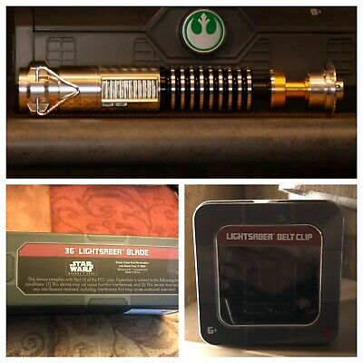 Disneyland Star Wars Galaxy's Edge Luke Skywalker Legacy Lightsaber Combo Sealed