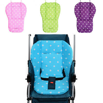 Soft Baby Kids Pram Pushchair Car Seat Liner Pad Mat Cushion Washable
