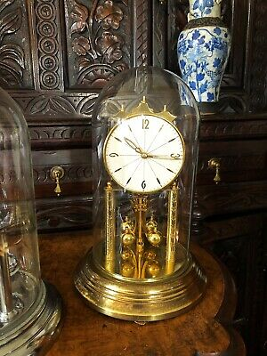 400 Day Anniversary Torsion Clock with Glass Dome