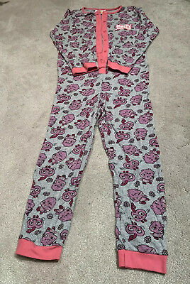Moshi Monsters Girls All In One Pyjamas Age 8/9 Yrs Vgc