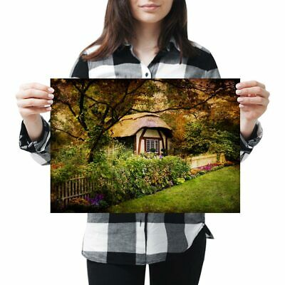 "Small Photograph 6/"" x 4/"" Art Print Photo Gift #16372 Enchanted Forest Cottage"