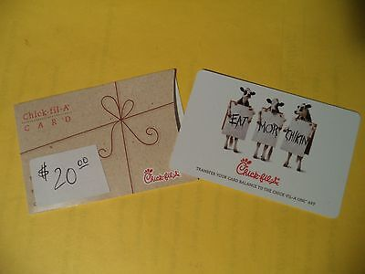 Chick - fil - A $ 20.00 Gift Card