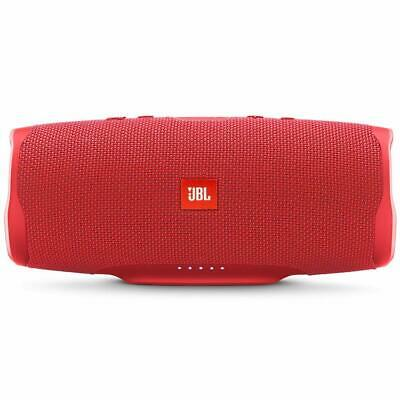 JBL Charge 4 Portable Waterproof Wireless Bluetooth Speaker - Red, Excellent.