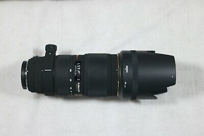 [Very Good] Sigma AF 70-200mm F/2.8 II EX DG APO MACRO HSM Lens for Canon w/Box