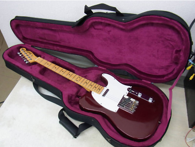 Fender CTL-50M Telecaster OCR Old Candy Apple Red Electric Guitar Made in Japan