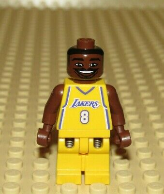 Lego NBA Kobe Bryant #8 Los Angeles Lakers basketball player minifigure 3563