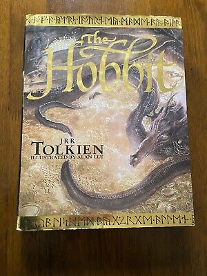 THE HOBBIT J.R.R. TOLKIEN Illustrated By Alan Lee 1997 HCDJ Lord of the Rings