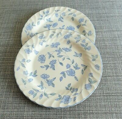 "Bhs *Bristol Blue* Two 10.5"" Dinner Plates  #Excellent Condition*"