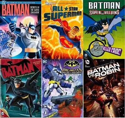 NEW DC Comics DC Universe Justice League Various Animated DVD Movies - YOU PICK