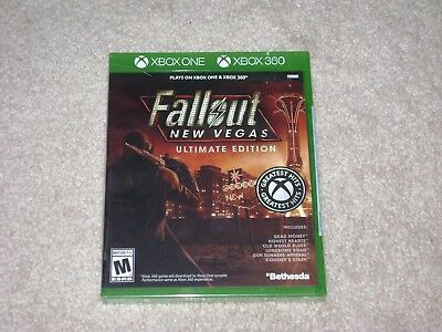 Fallout New Vegas Ultimate Edition...xbox One...***Sealed***Brand New***!!!!!!!!