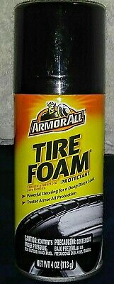 Armor All Tire Foam with Shine Protectant Coating Long Lasting Sheen 4 oz