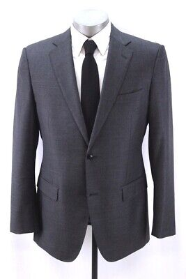 charcoal SUITSUPPLY napoli blazer jacket sport suit coat perennial fabric 42 L