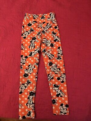 Kids LulaRoe 2019 Leggings Size S/M Minnie Mouse