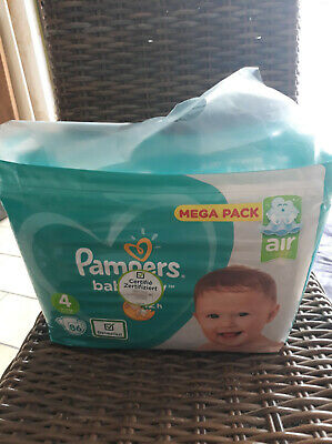 172 couches Pampers Baby dry.taille 4 (9 /14kg)