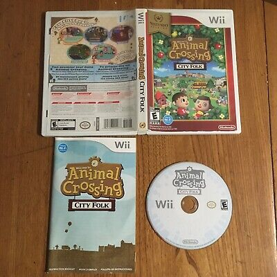 Animal Crossing: City Folk (Nintendo Select Wii, 2008) - Like New