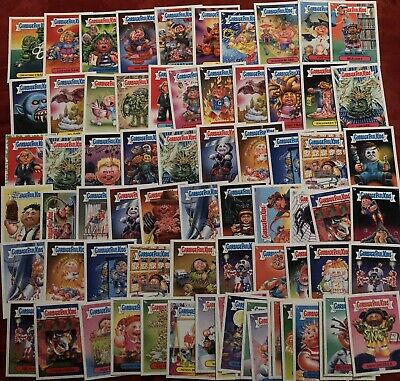 2013 & 2020 Garbage Pail Kids - Lot Of 73 GPK Cards In A Plastic Case GPK
