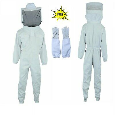 Beekeeper Beekeeping Full suit supreme quality cotton fencing veil 4XL size