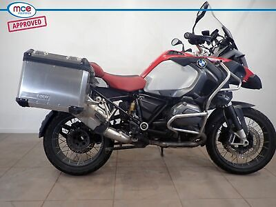 BMW R 1200 GS Adventure Red 2015 Spare or Repair Restoration Project Damaged