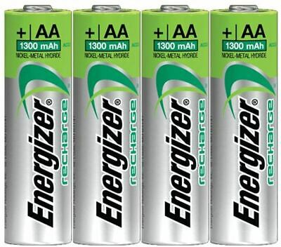 ENERGIZER AA RECHARGE UNIVERSAL 1300mAh NiMH PRE-CHARGED BATTERIES
