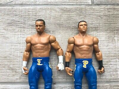 WWE WWF Epico Primo Basic Series 2011 Wrestling Figure Mattel The Colons