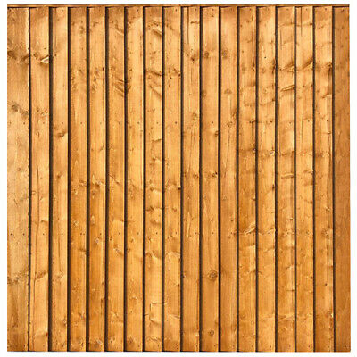 Pressure treated feather edge fence panels and trellis from 2ft to 6ft L