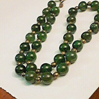 Antique Chinese Qing Dynasty Jade and 835 Silver Necklace GENUINE