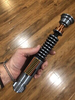 ALL NEW Luke Skywalker ROTJ lightsaber - Steel Rod! - 3D Printed- Prop Replica