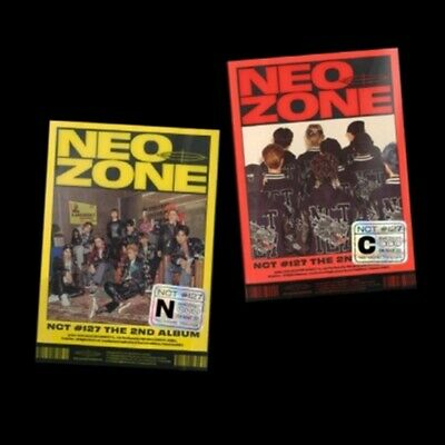 NCT 127 2nd Album [NCT #127 Neo Zone] CD+Book+Lyrics+Post+P.Card+C.Card+F.Poster