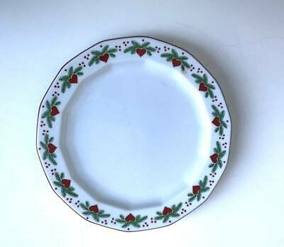 """Porsgrund Hearts & Pines Multisided Bread & Butter Plate 6 7/8"""""""