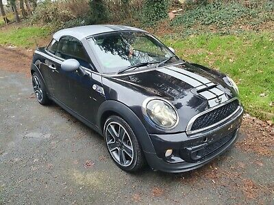 12 MINI COOPER SD COUPE 2.0D Salvage / Damaged Repairable. CAT N! V5C!