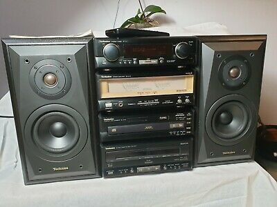 Technics Stack System SC-CA10 With Remote And Manual excellent condition