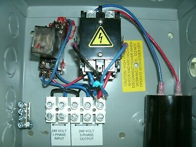 Phase Craft 2-5 HP 3-Phase Static Converter