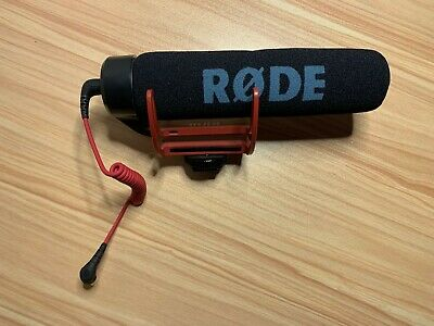 Rode VideoMic GO On-Camera Microphone- Black / Red