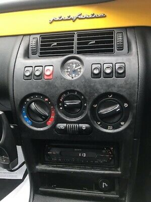 Fiat Coupe 20v Turbo Center Console And Buttons