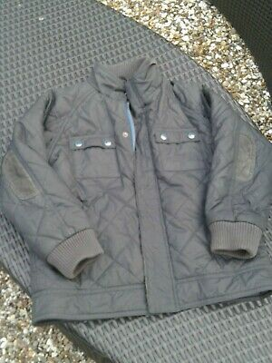 Ted Baker Boys Dark Green Quilted Jacket 7/8 Years
