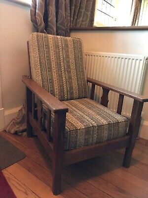 Vintage Arts and crafts? Oak Recliner Chair