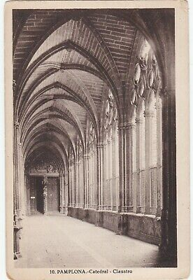 CPA n&b PAMPLONA - catedral - Claustro