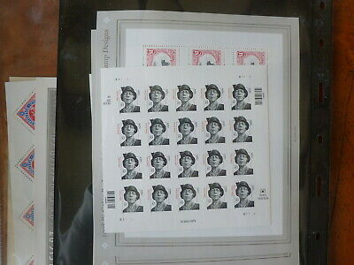 Mint NH U S HigherValue Discount Postage Sheet Lot W/Face Value of $396.80 > 80%