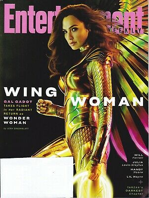 Entertainment Weekly March 2020 GAL GADOT Wonder Woman 1984 with Wings