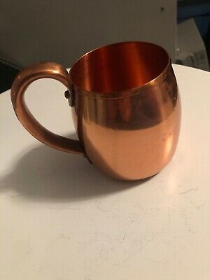 Solid Copper Cup West Bend Aluminum Co Vintage