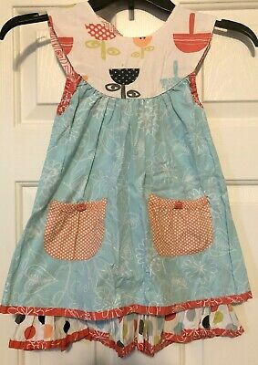 JELLY THE PUG Boutique Girls Dress Size 5