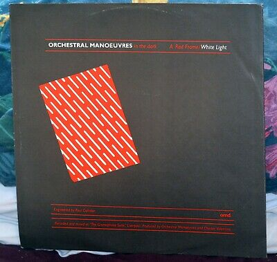 OMD - Orchestral Manoeuvres In The Dark - RED FRAME/WHITE LIGHT VeryRare UK 12""