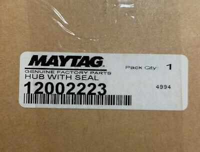 Maytag Hub And Seal Appliance Part Number 12002223     8