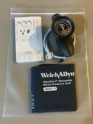 Welch-Allyn Tycos DS58 Hand Aneroid Sphygmomanometer w/ FlexiPort BP Cuff #3