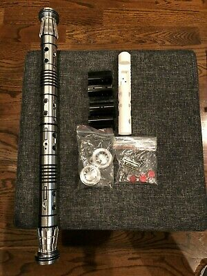 Korbanth DM1 Darth Maul Dual Lightsaber Hilt + Custom Chassis